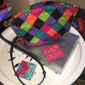 Vintage Color-Block Bag